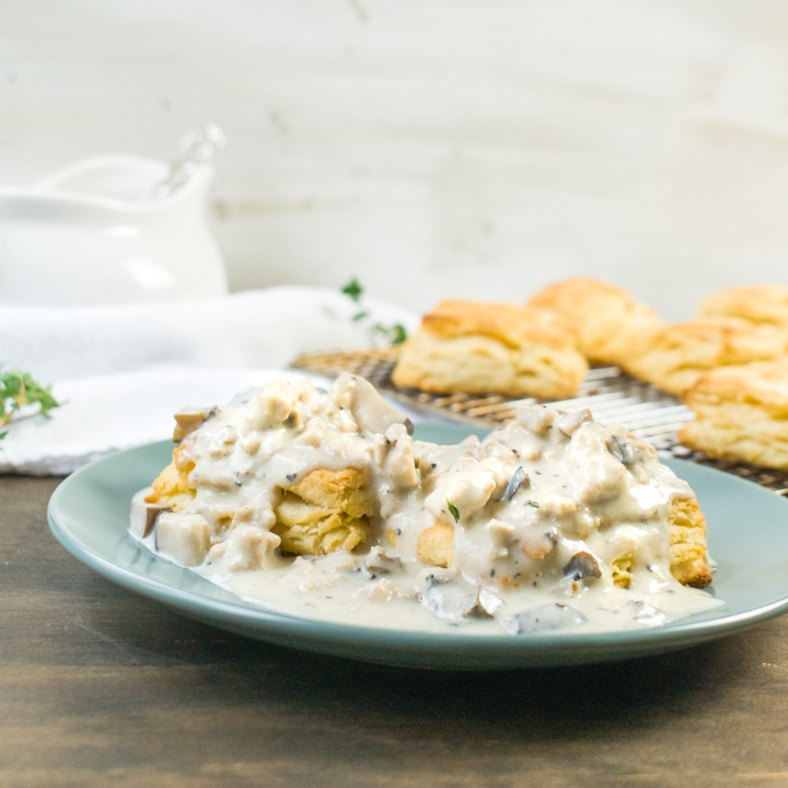 CHICKEN + SHROOM BREAKFAST GRAVY